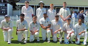The Munster XI which dew with the MCC at The Mardyke.