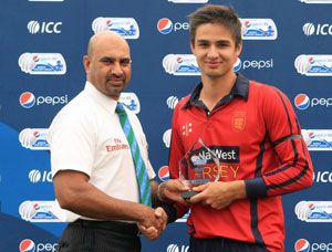 Ben Stevens of Jersey won the WCL 5 Player of the tournament award.