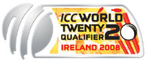 Twenty20 World Cup Qualifying Tournament, 2008, logo